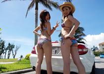 夏だビーチだヤリマンと中出しだ!2013しろハメSUMMER企画02・極上ビキニGALと行く夏@沖縄【ems-234】